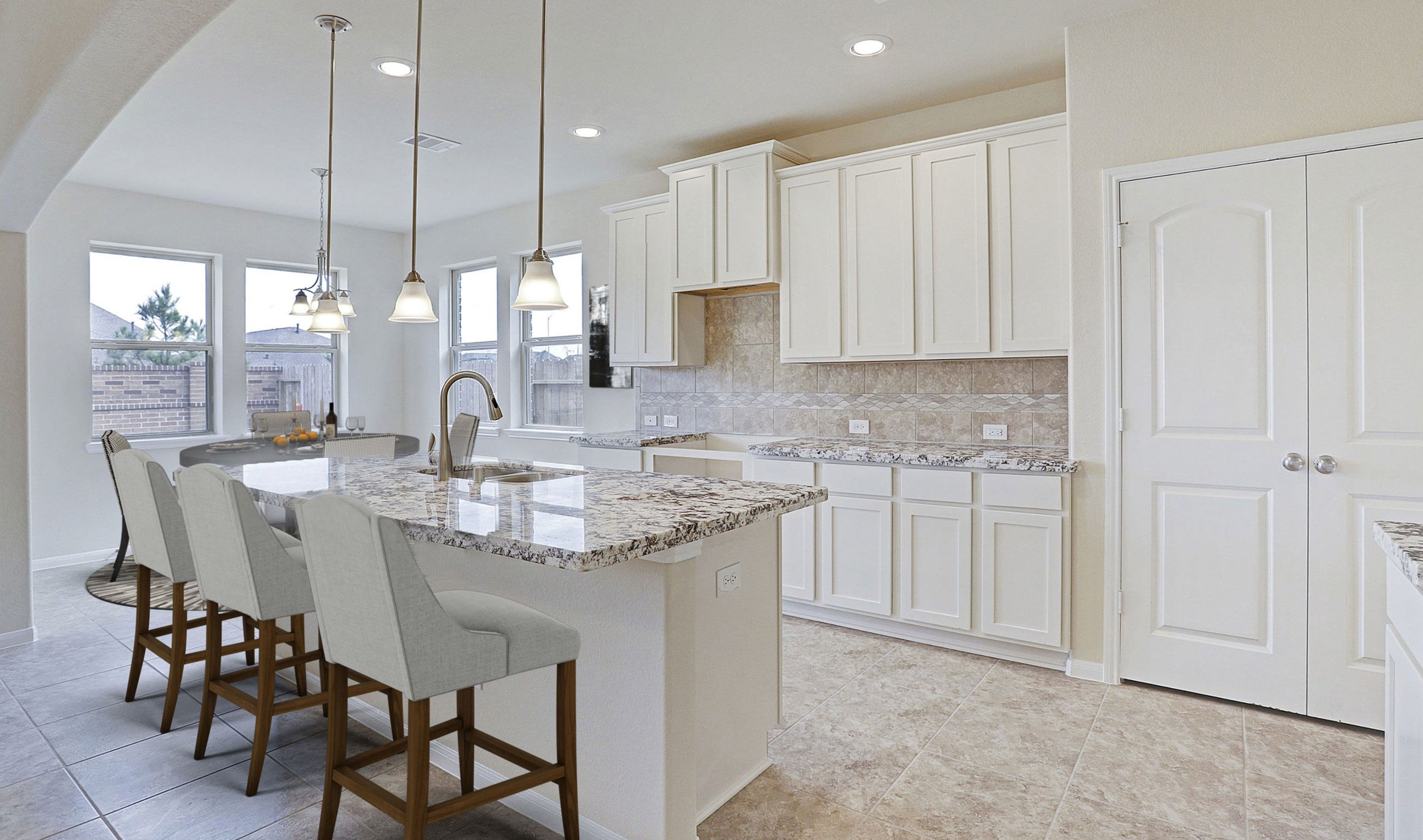 Kitchen featured in the Tuscany II By K. Hovnanian® Homes in Houston, TX