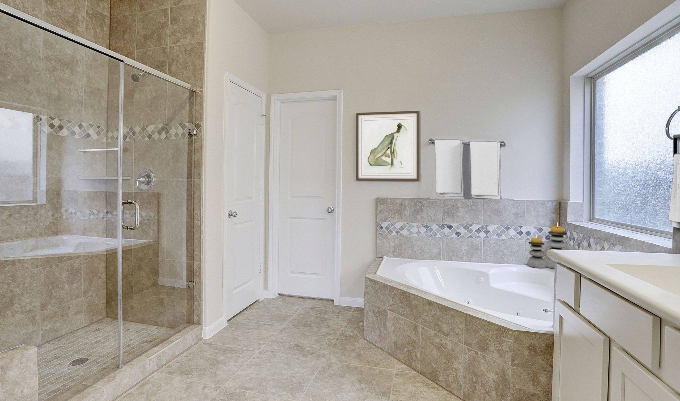 Bathroom featured in the Tuscany II By K. Hovnanian® Homes in Houston, TX