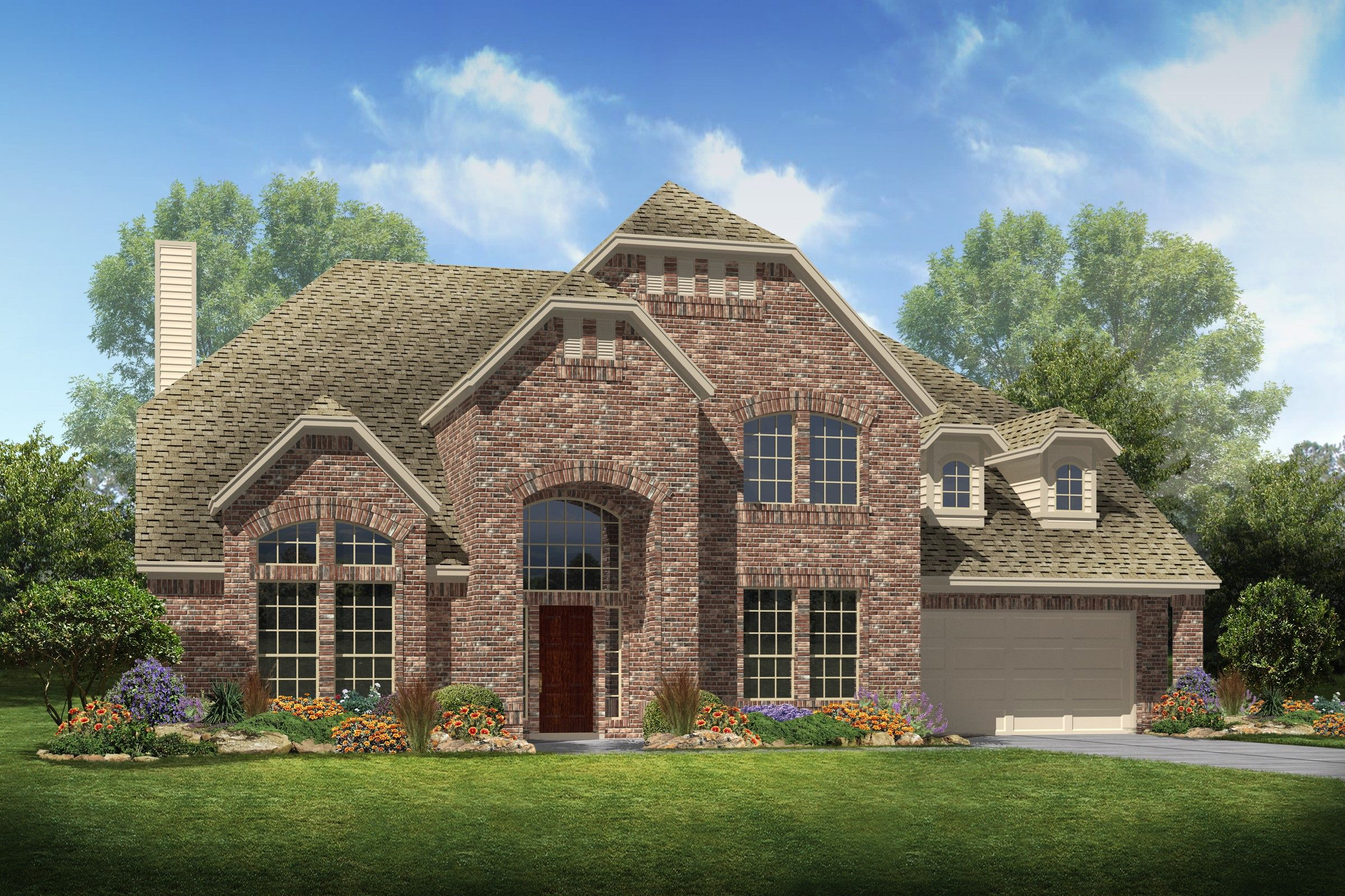 K Hovnanian Homes Floor Plans Texas