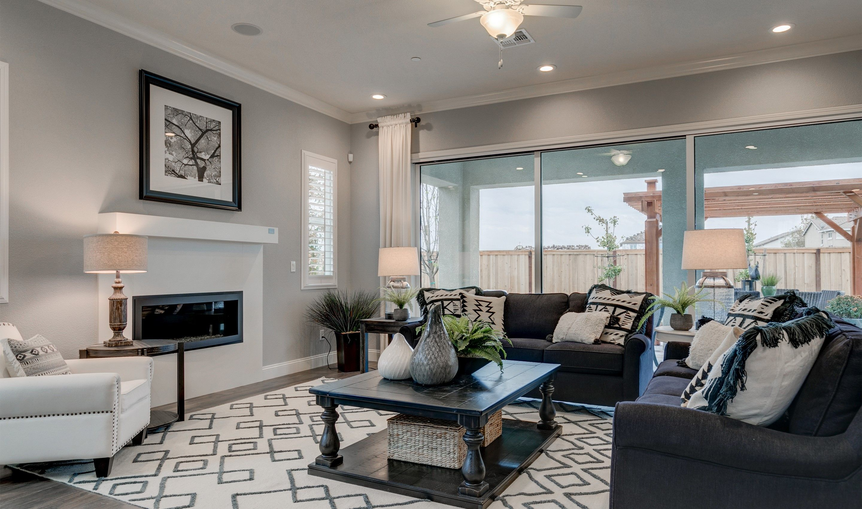Living Area featured in the Canopy By K. Hovnanian® Homes in Stockton-Lodi, CA