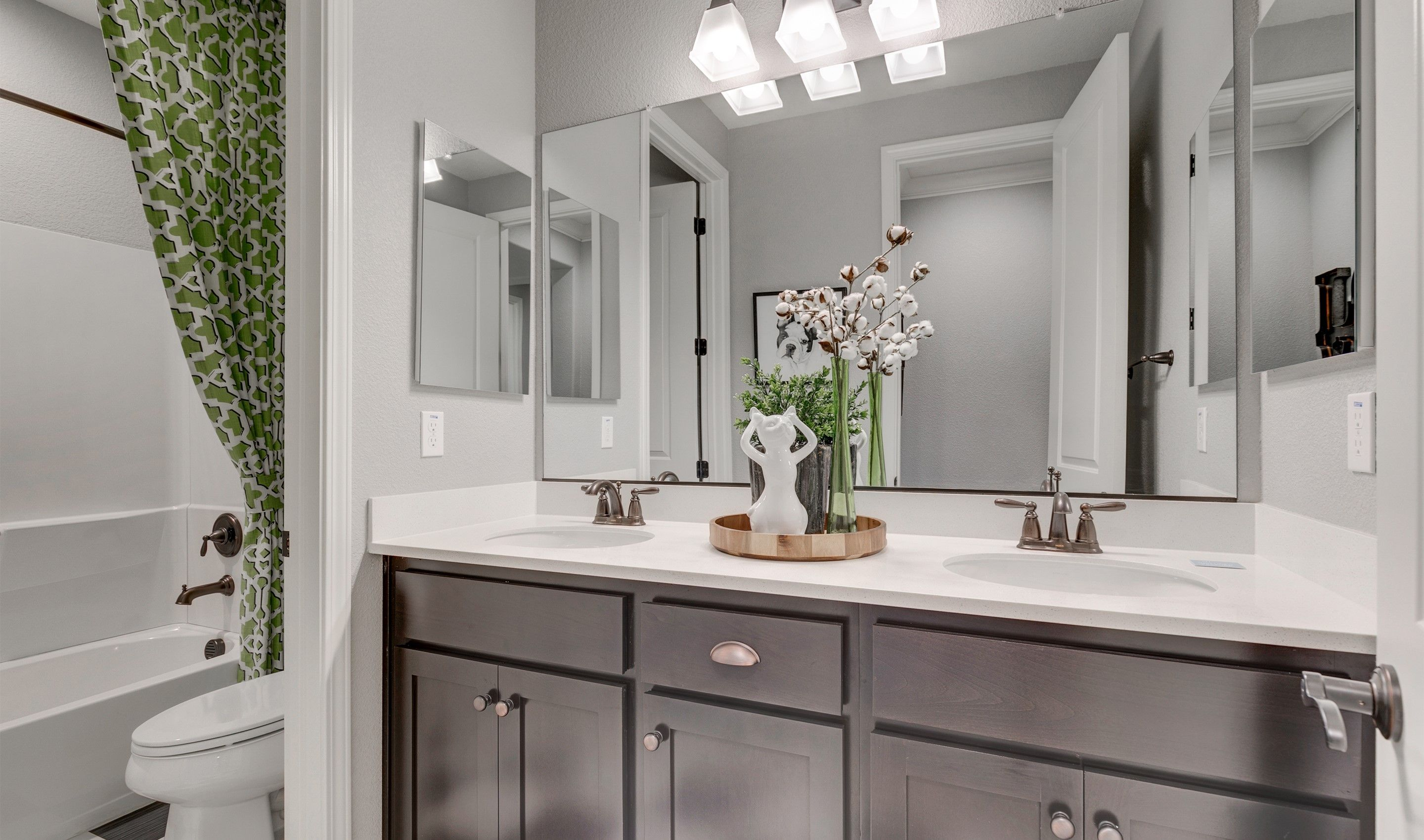 Bathroom featured in the Canopy By K. Hovnanian® Homes in Stockton-Lodi, CA