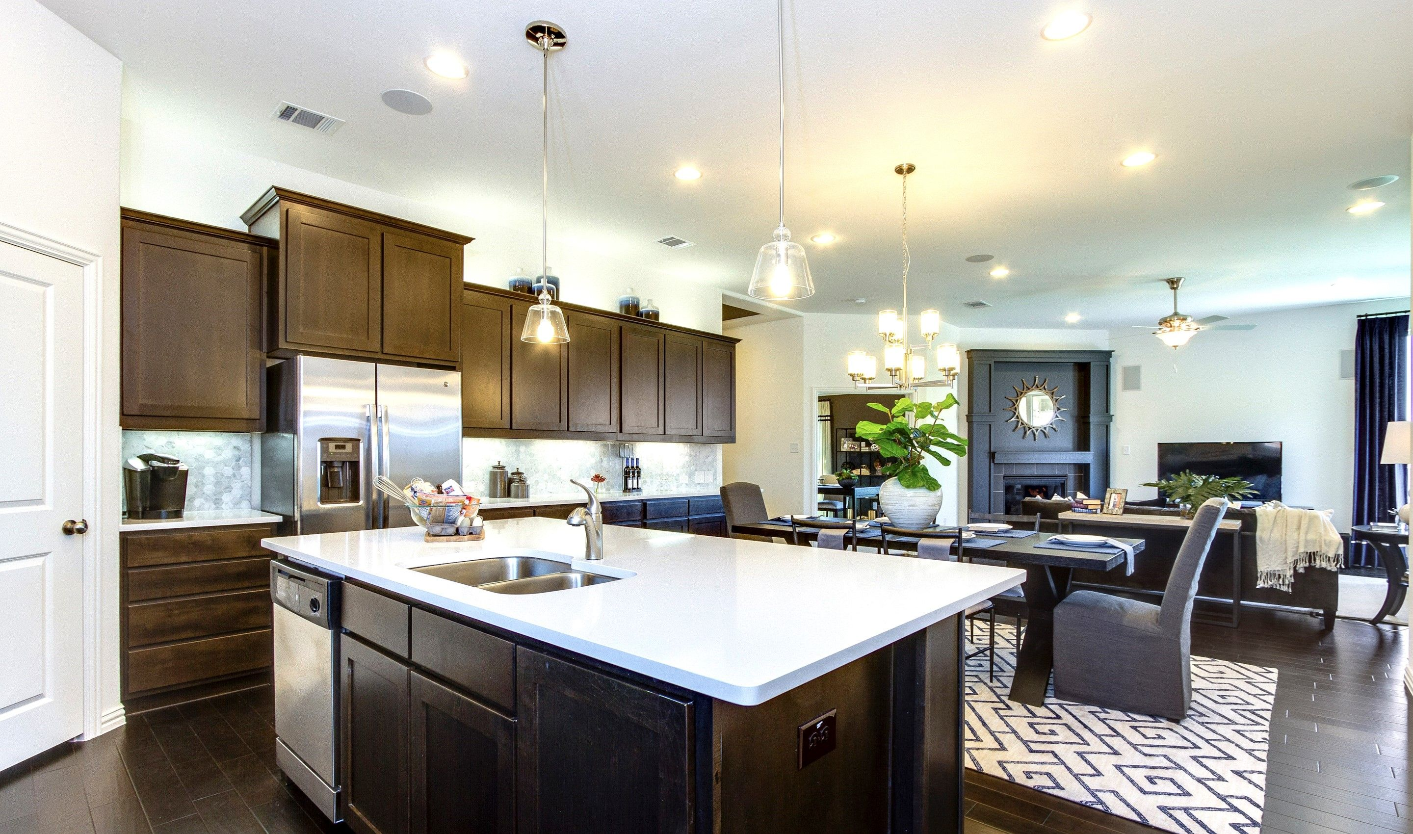 Kitchen-in-Lynnwood III-at-Light Farms Sage-in-Celina