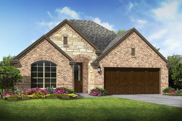 Exterior:Lynnwood III - C - Optional stone