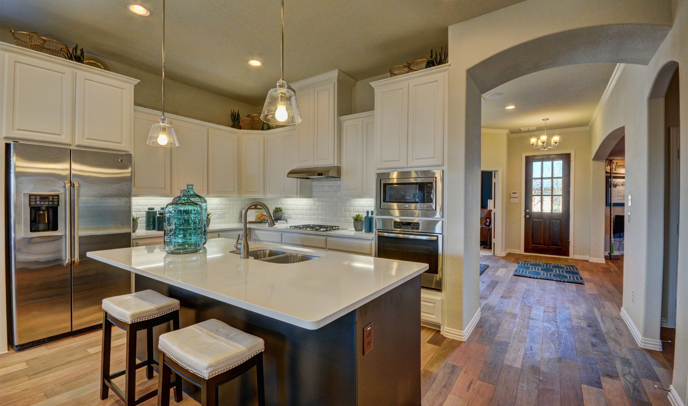 Kitchen-in-Lakeway-at-Liberty-in-Melissa