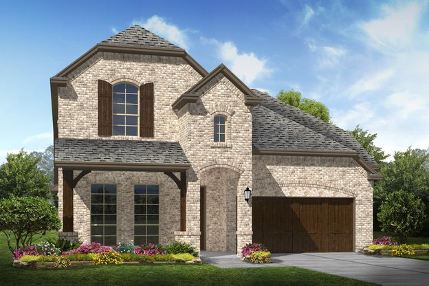 Exterior:Lyoncrest - C - Shown with stone