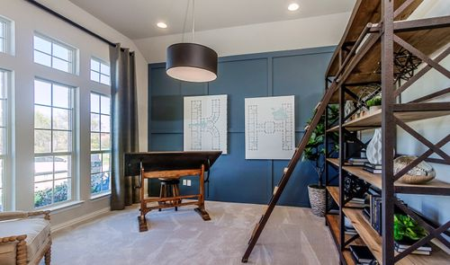 Study-in-Hillcrest II-at-Light Farms Cypress-in-Celina