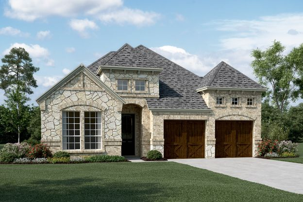 Exterior:Westridge II-C-Optional stone