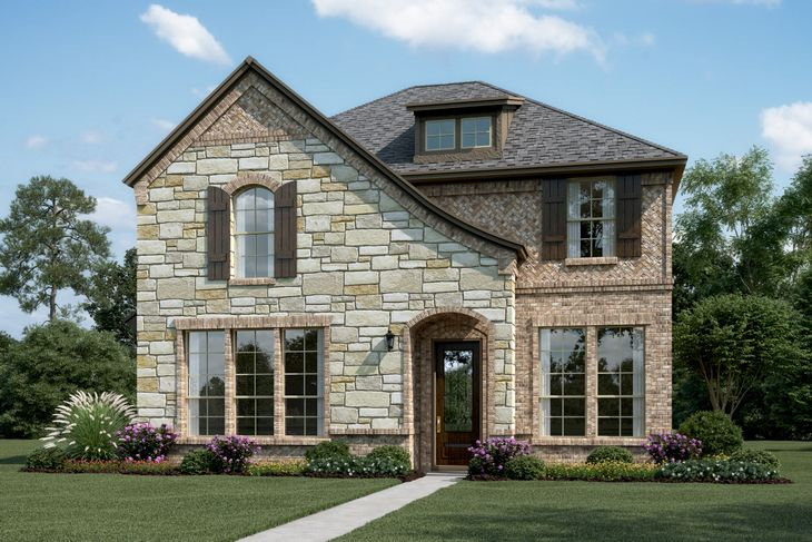 Exterior:Glenchester II - S - With stone