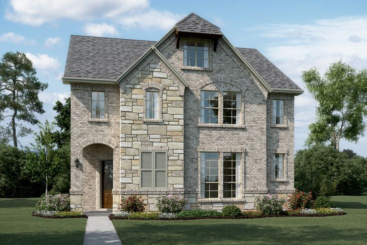 Exterior:Riverchase II - T - with optional stone