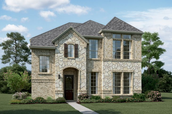 Exterior:Riverchase - T - with optional stone