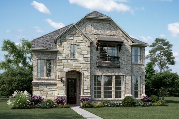 Exterior:Riverchase - S - Shown with stone