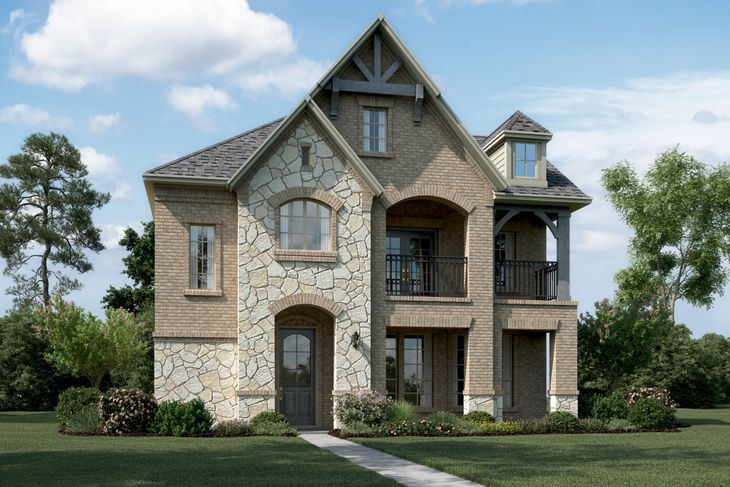 Exterior:Castlebury - T - with optional stone