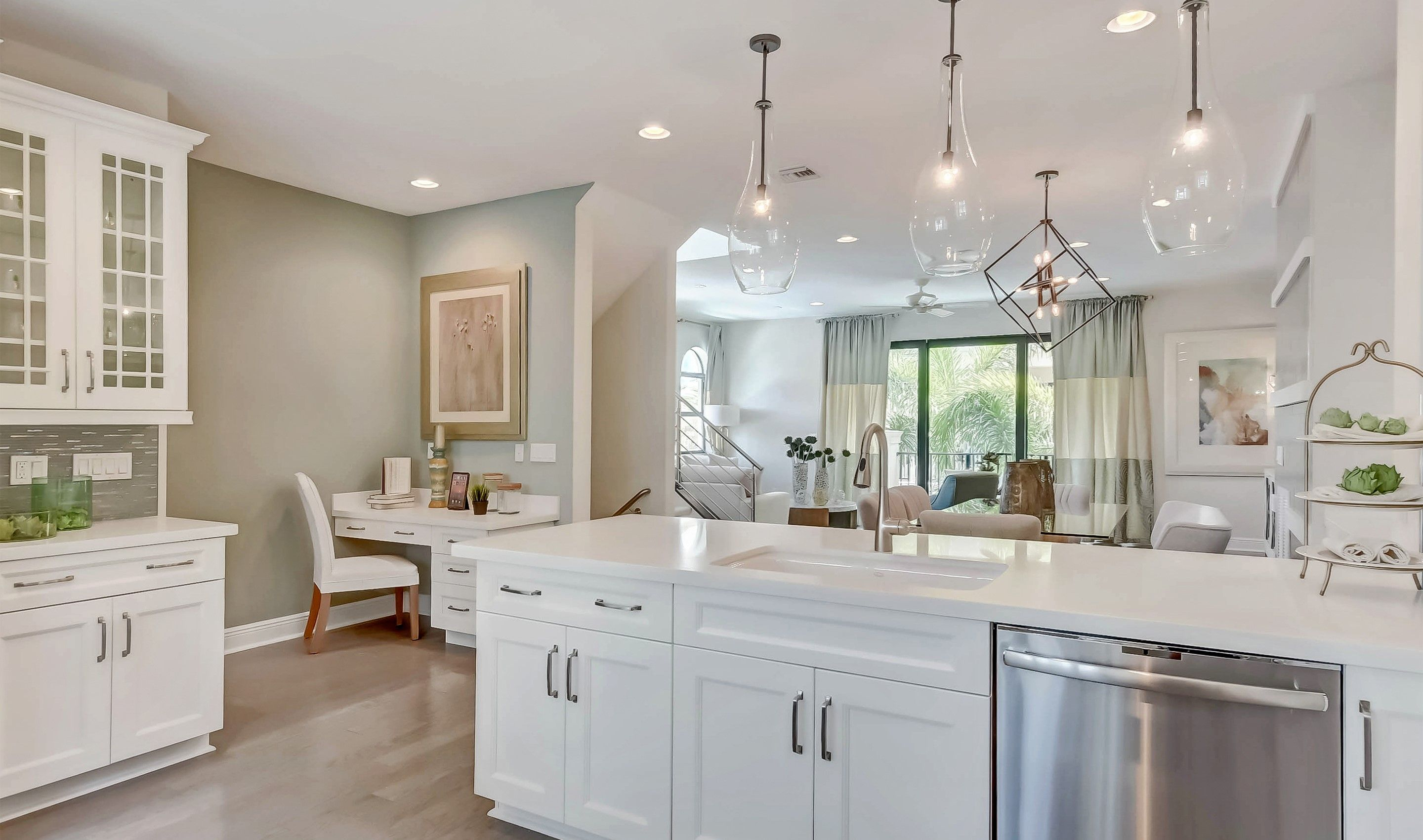 Kitchen featured in the Bonnett II - Townhome By K. Hovnanian® Homes in Palm Beach County, FL