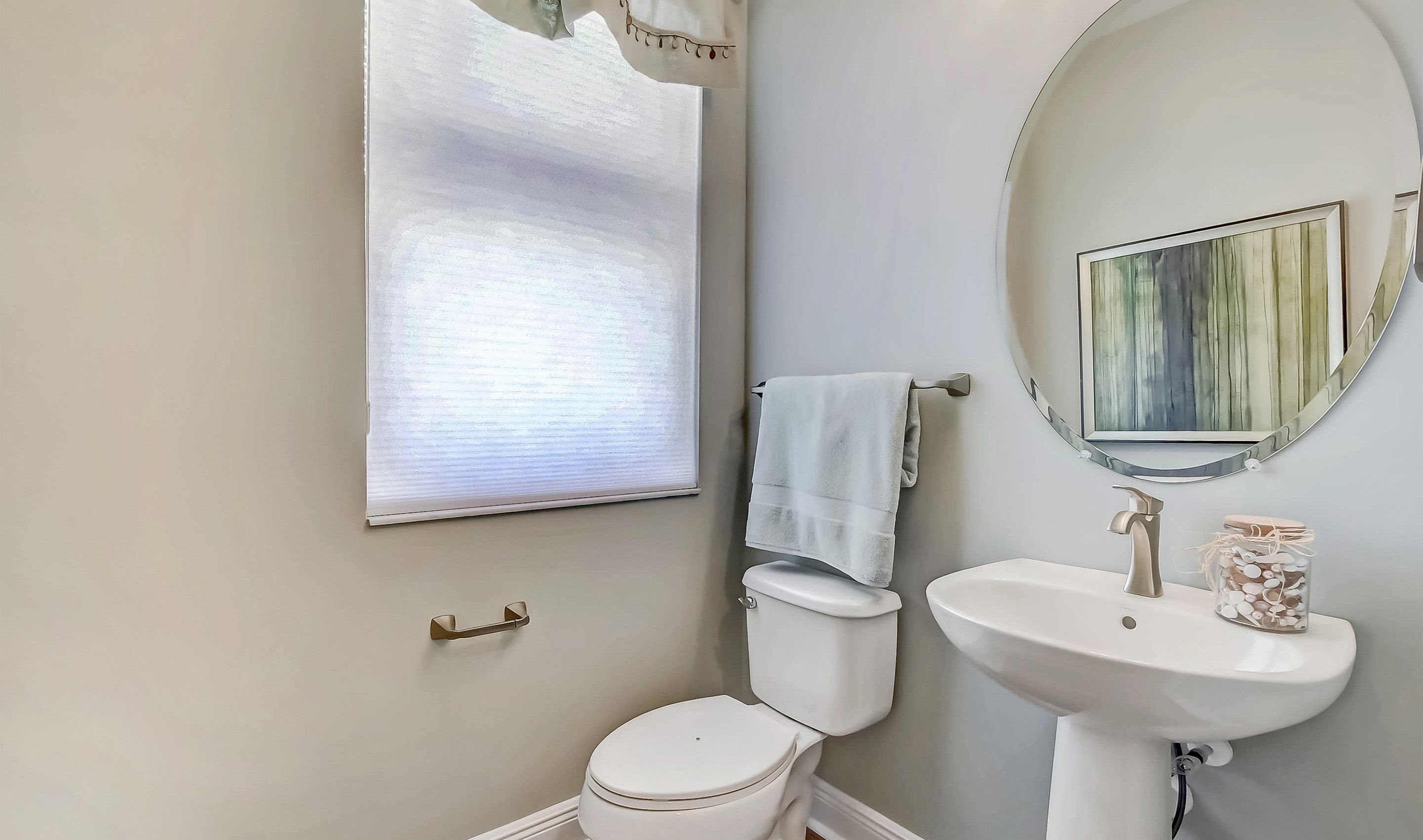 Bathroom featured in the Bonnett II - Townhome By K. Hovnanian® Homes in Palm Beach County, FL