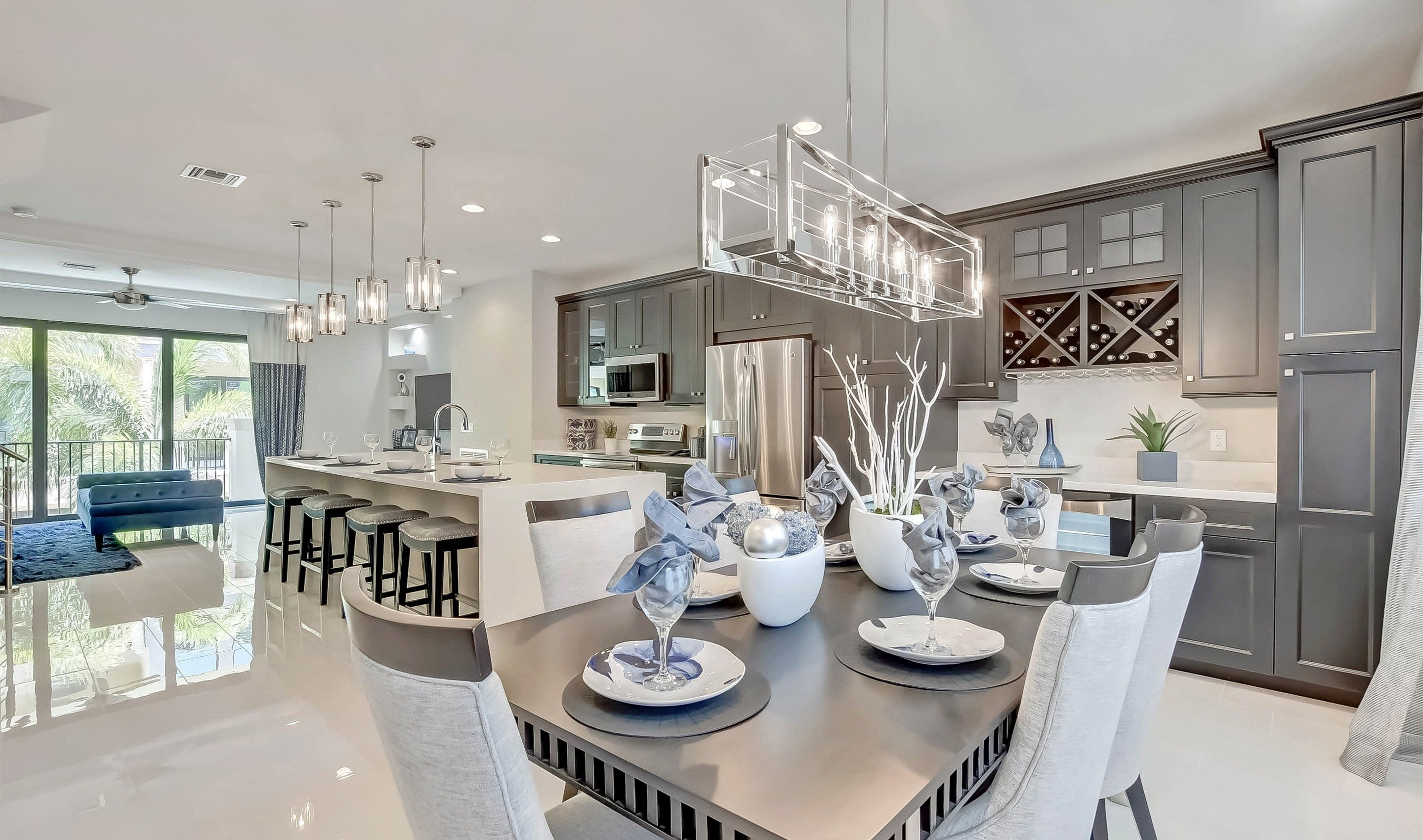 Living Area featured in the Selena II - Townhome By K. Hovnanian® Homes in Palm Beach County, FL