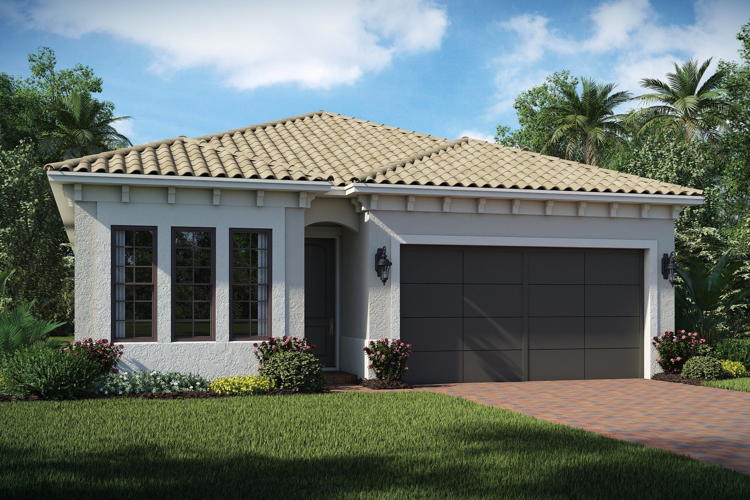 Exterior featured in the Atocia By K. Hovnanian® Homes in Broward County-Ft. Lauderdale, FL