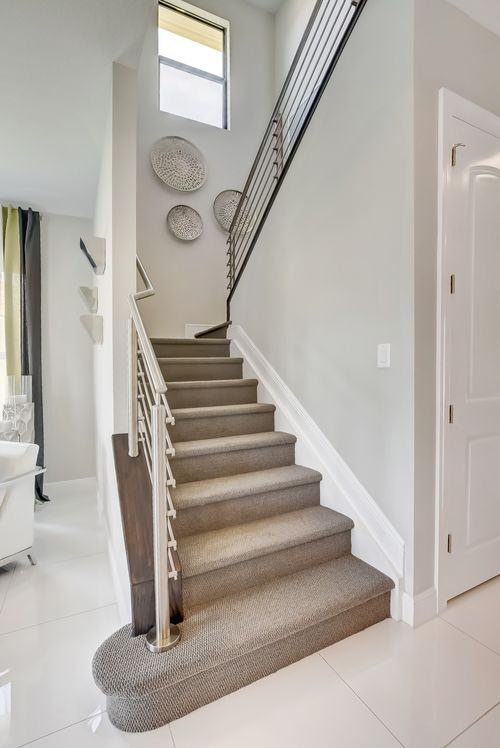 Stairway-in-Sinclaire-at-Coral Lago-in-Coral Springs