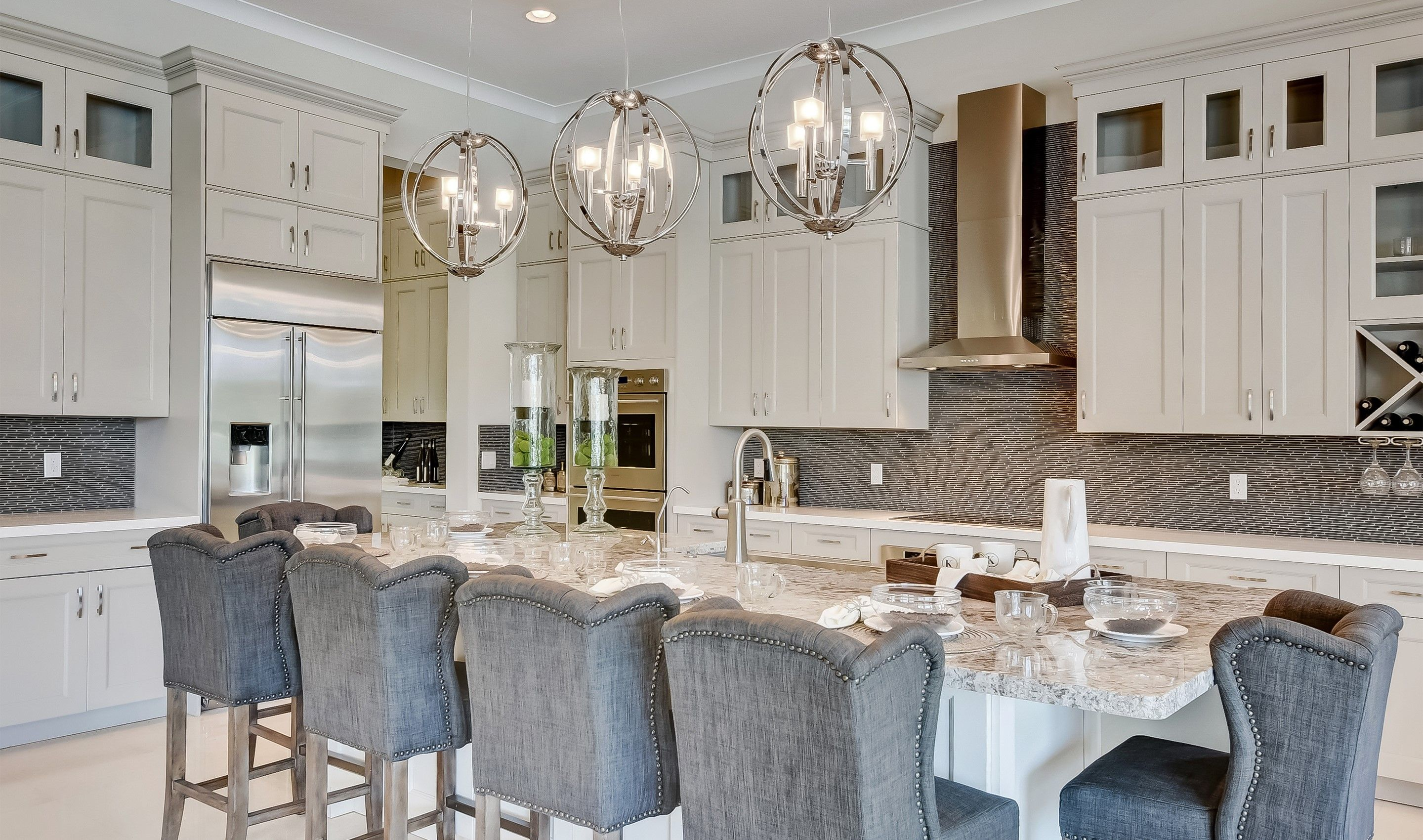 Kitchen featured in the Saffire By K. Hovnanian® Homes in Palm Beach County, FL