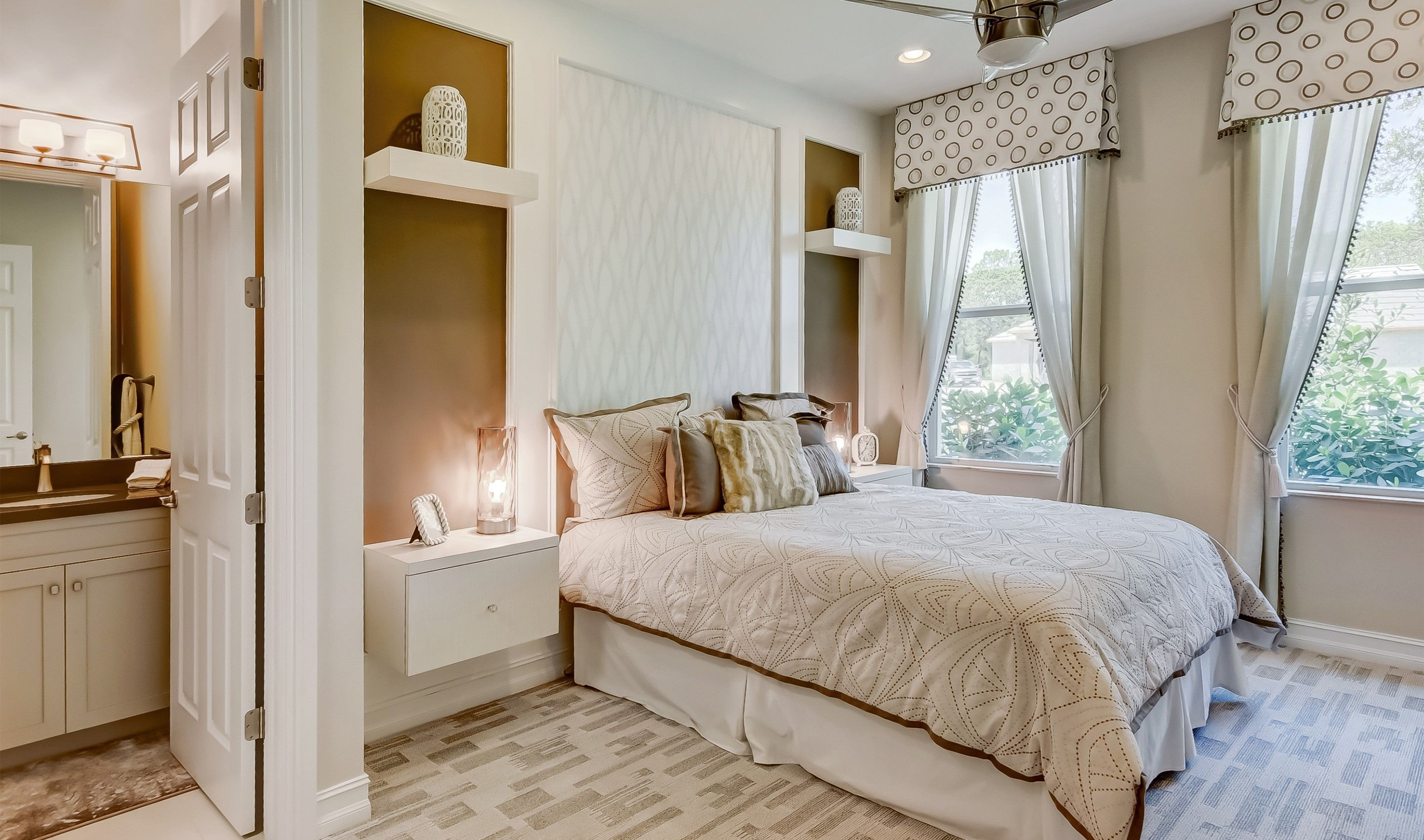 Bedroom featured in the Saffire By K. Hovnanian® Homes in Palm Beach County, FL