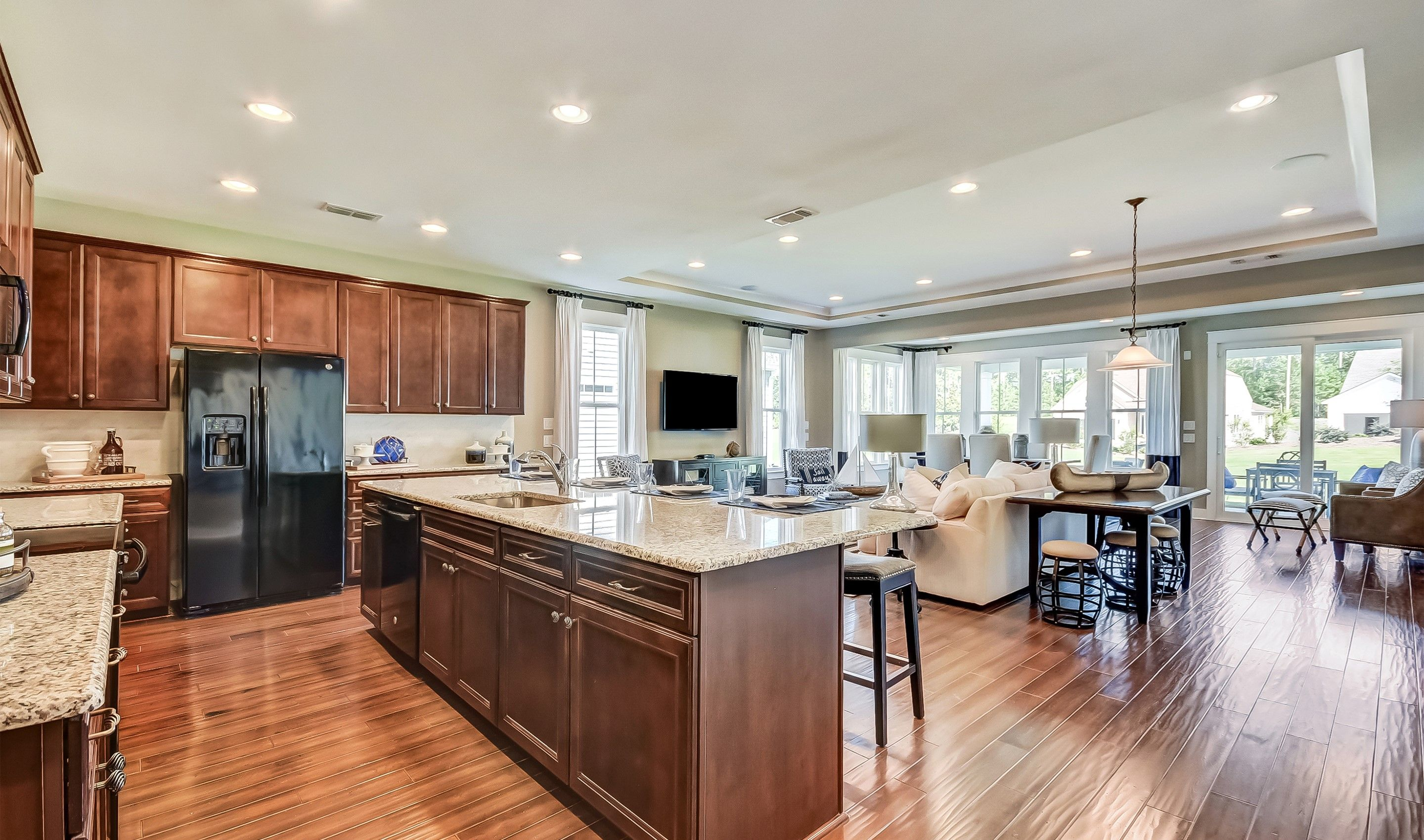Kitchen-in-Donegal Loft - Arbors Collection-at-Hampton Lake-in-Bluffton