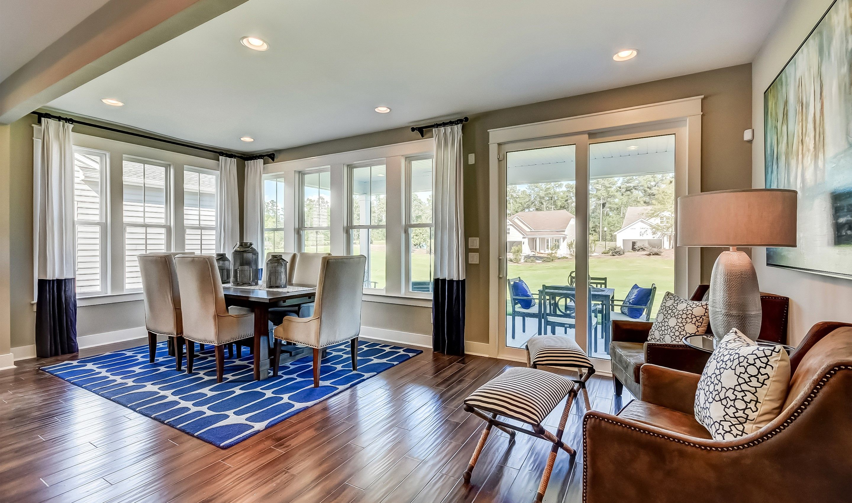 Dining-in-Donegal Loft - Arbors Collection-at-Hampton Lake-in-Bluffton