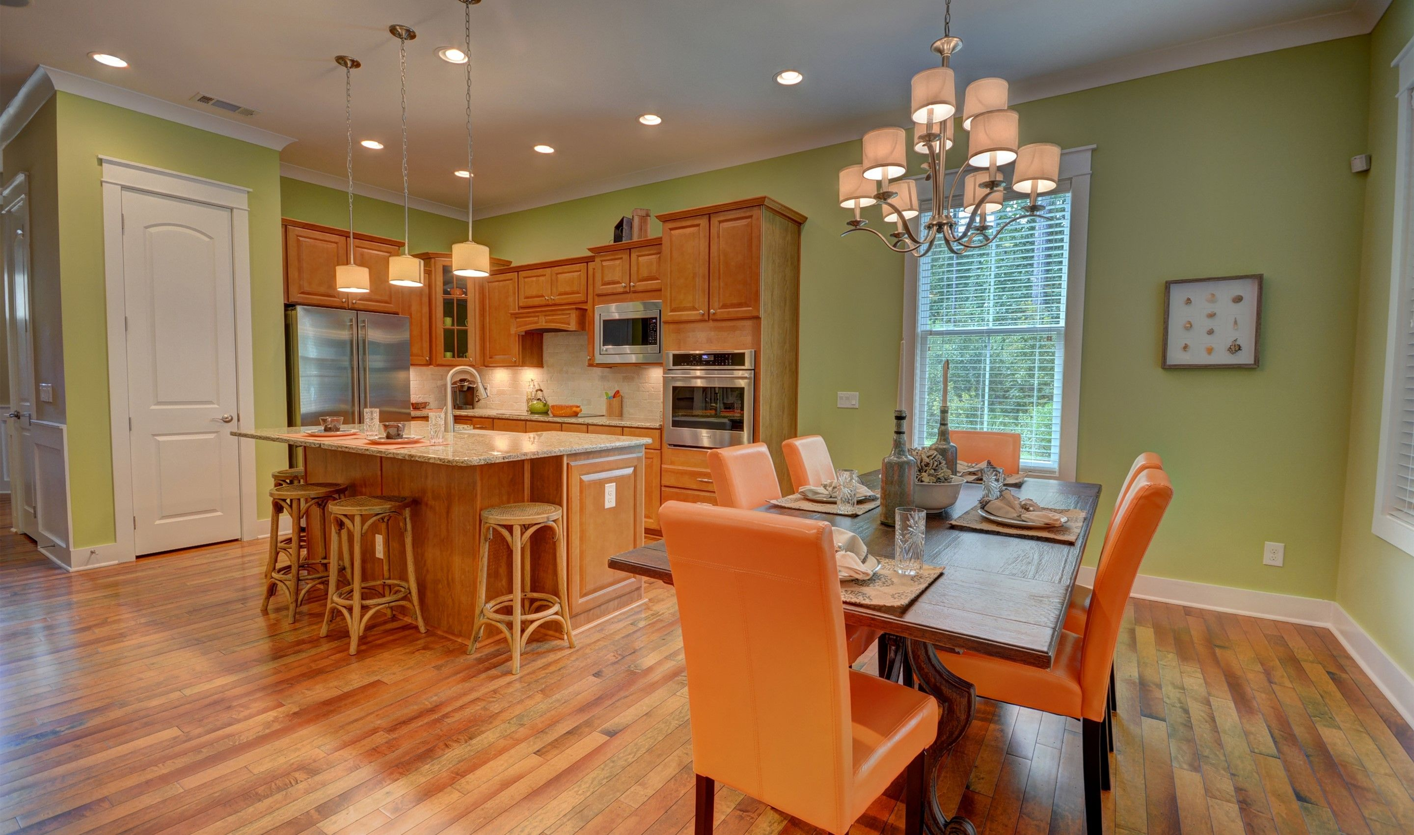 Kitchen-in-Athens Loft - Arbors Collection-at-Hampton Lake-in-Bluffton