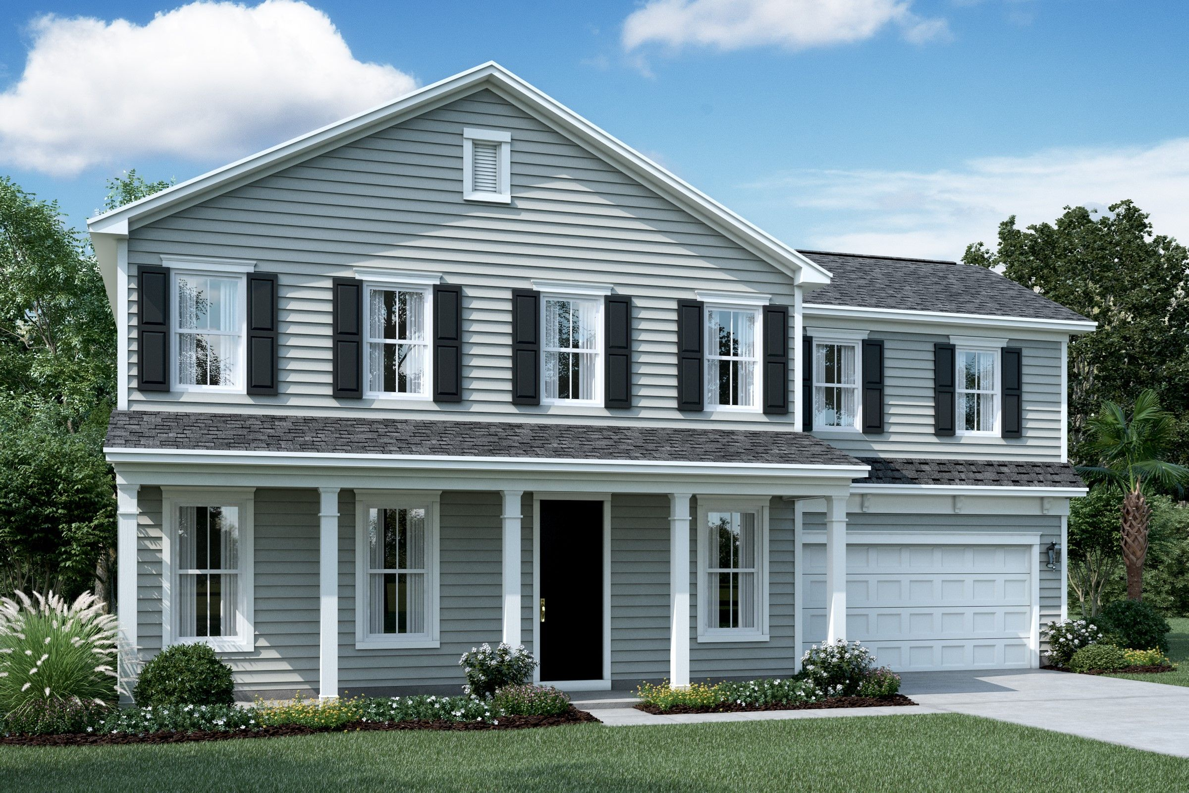 Exterior featured in the Olvera By K. Hovnanian® Homes in Savannah, GA