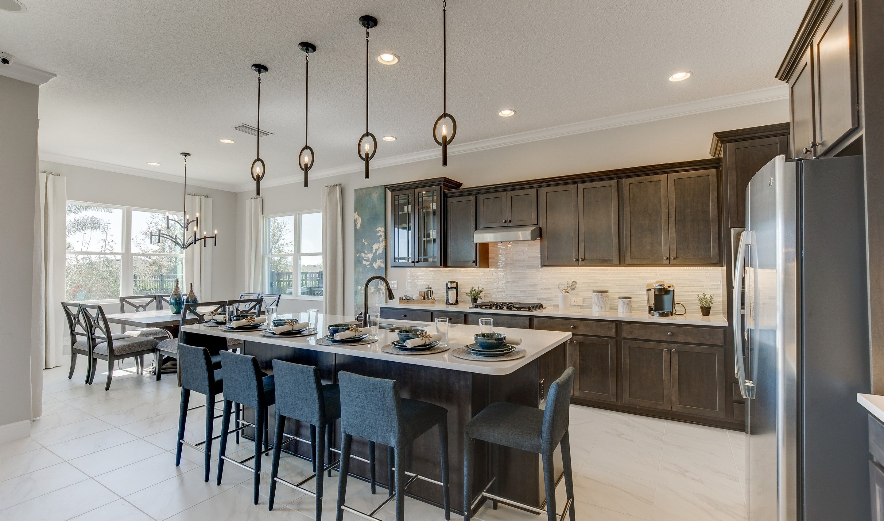 Kitchen-in-Alvarez-at-Magnolia at Westside-in-Davenport