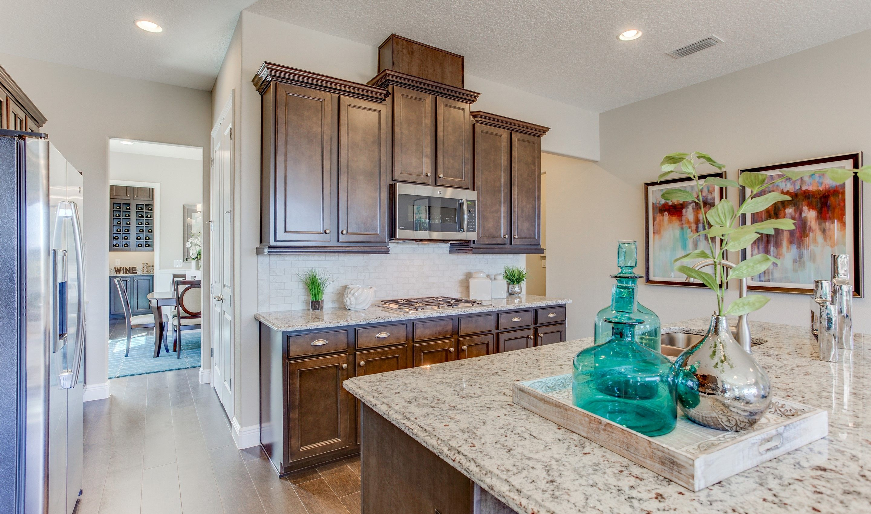 Kitchen featured in the Harper By K. Hovnanian® Homes in Orlando, FL
