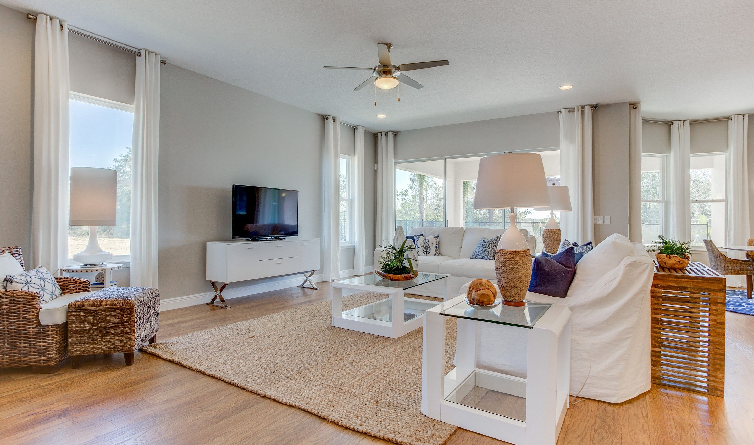 Greatroom-and-Dining-in-Xavier-at-The Highlands at Summerlake Groves-in-Winter Garden