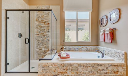 Bathroom-in-Mosaic-at-K. Hovnanian's® Four Seasons at Beaumont-in-Beaumont