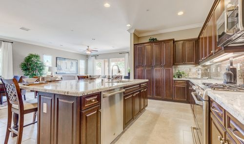 Kitchen-in-Rosette-at-K. Hovnanian's® Four Seasons at Beaumont-in-Beaumont