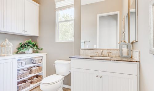 Bathroom-in-Montage-at-K. Hovnanian's® Four Seasons at Beaumont-in-Beaumont