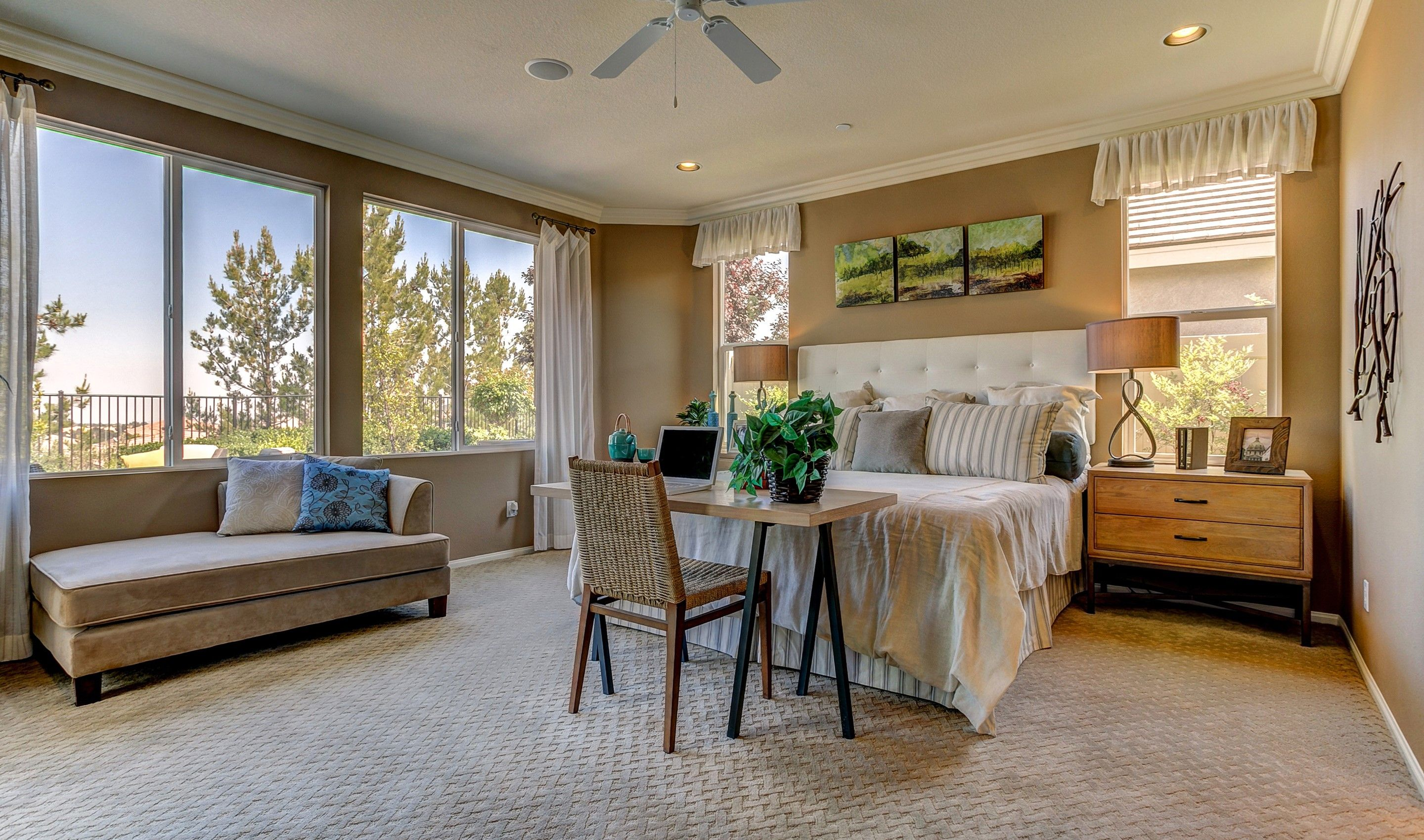 Bedroom featured in the Fan Hill By K. Hovnanian's® Four Seasons in Riverside-San Bernardino, CA