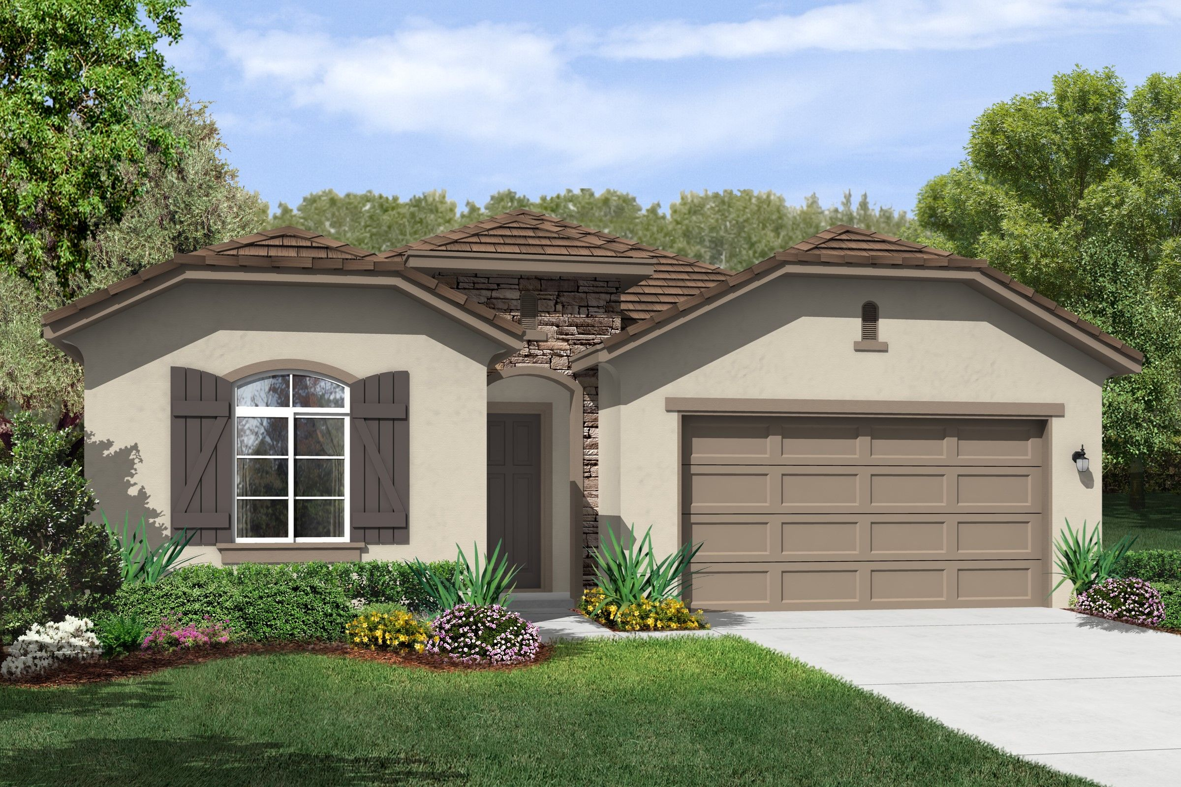 Exterior featured in the Indio Hills By K. Hovnanian's® Four Seasons