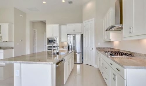 Kitchen-in-Azure-at-K. Hovnanian's® Four Seasons at Parkland-in-Parkland