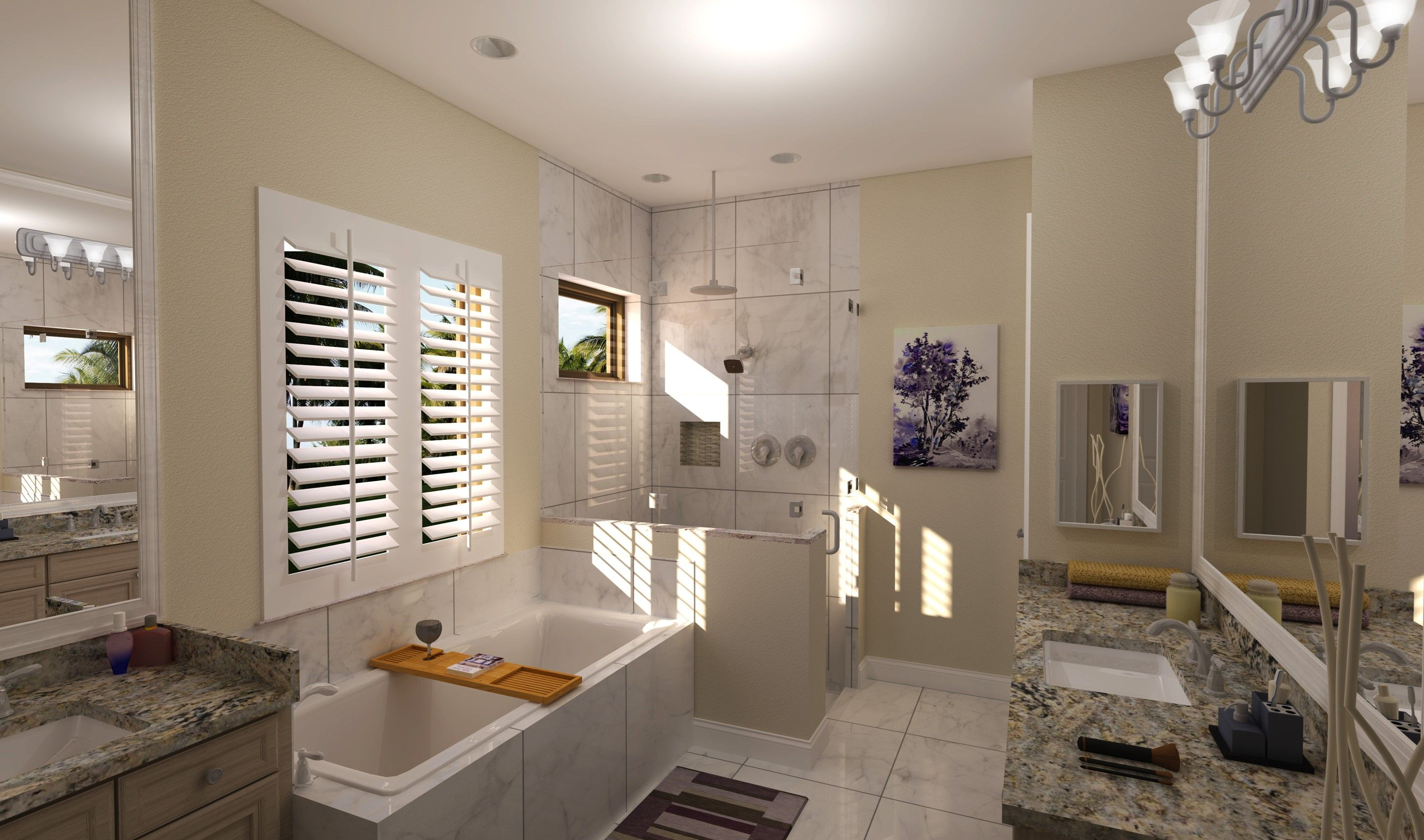 Bathroom-in-Cerelia-at-K. Hovnanian's® Four Seasons at Parkland-in-Parkland
