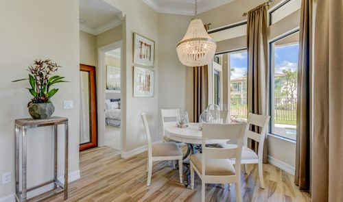 Breakfast-Room-in-Everett-at-K. Hovnanian's® Four Seasons at Parkland-in-Parkland