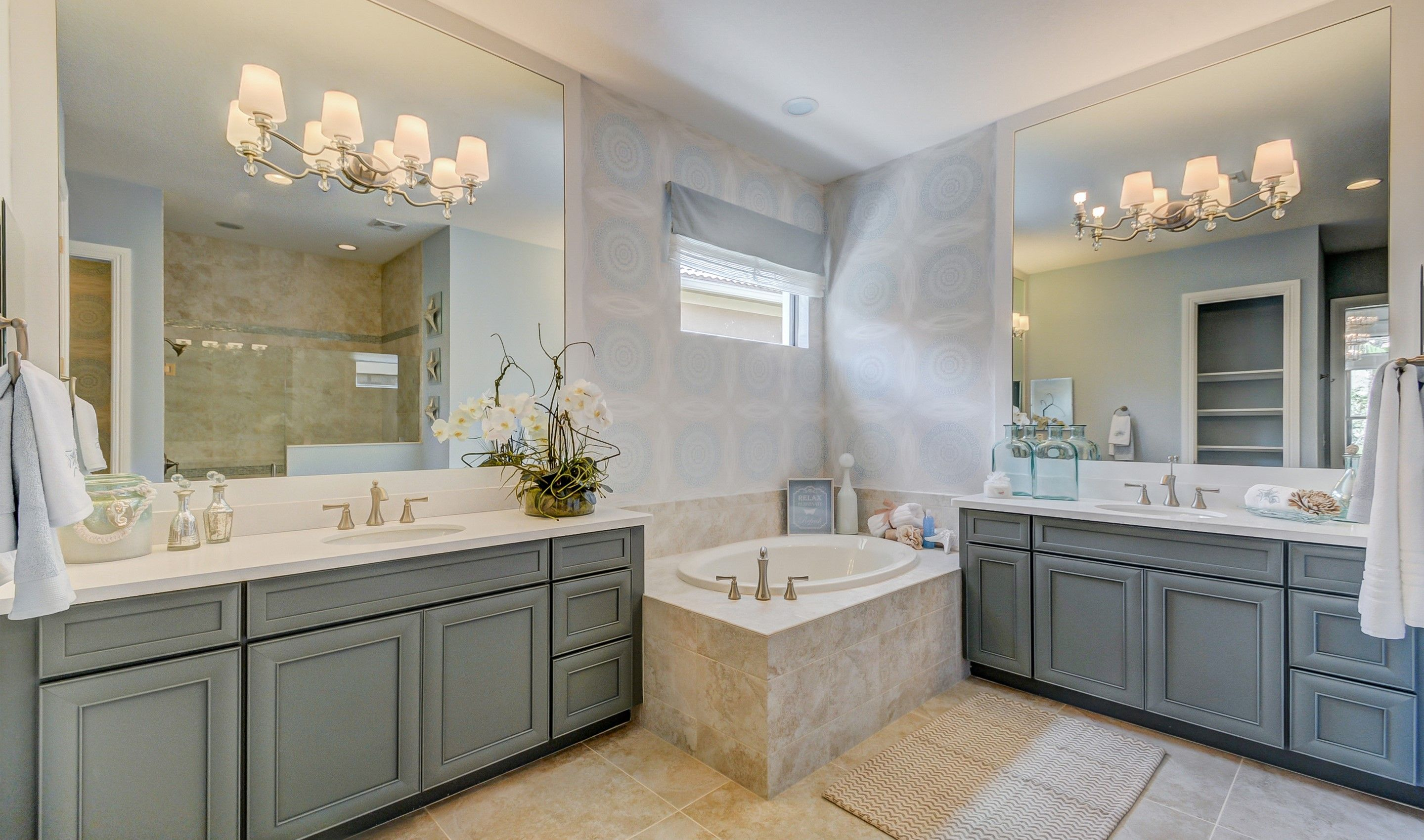 Bathroom-in-Flora-at-K. Hovnanian's® Four Seasons at Parkland-in-Parkland