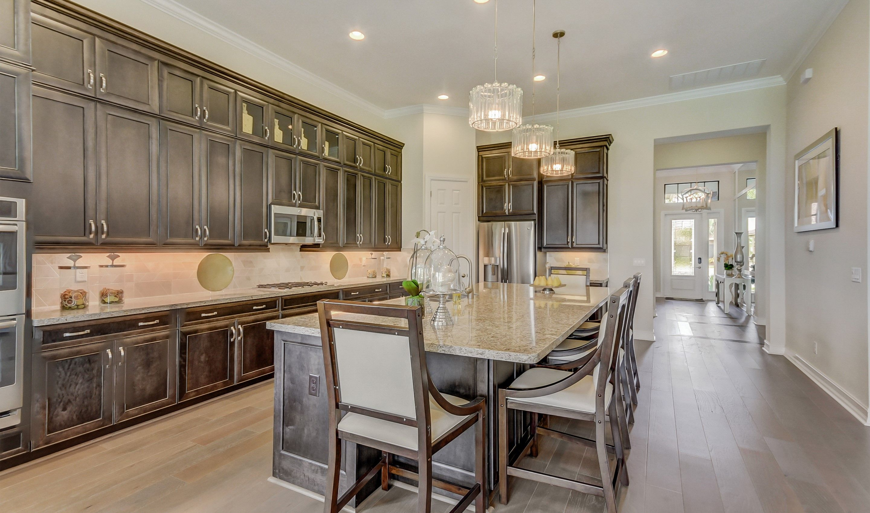 Kitchen featured in the Opal By K. Hovnanian's® Four Seasons in Broward County-Ft. Lauderdale, FL