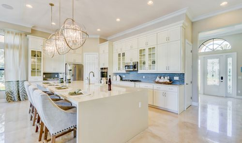 Kitchen-in-Barnard-at-K. Hovnanian's® Four Seasons at Parkland-in-Parkland