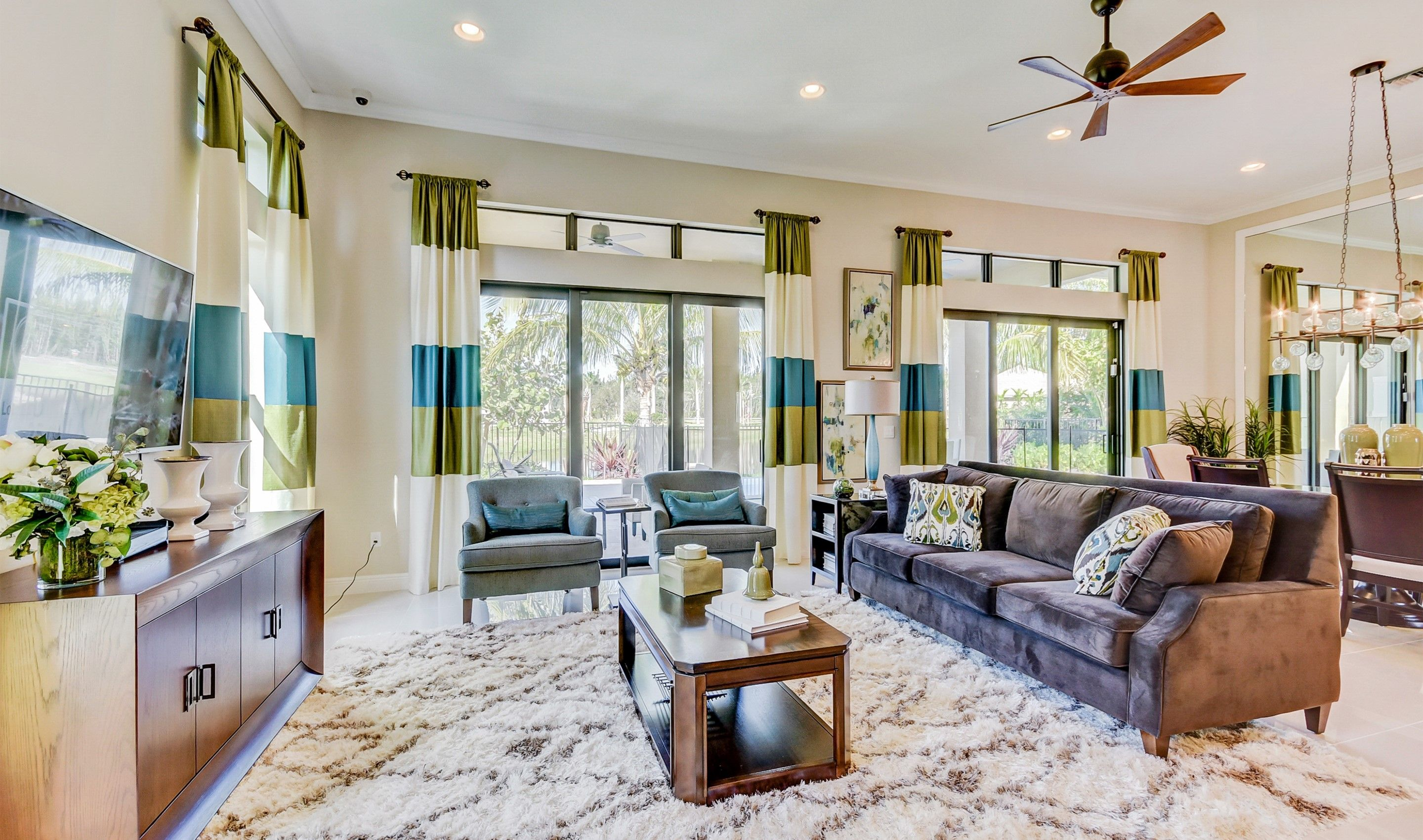 Living Area featured in the Clover By K. Hovnanian's® Four Seasons