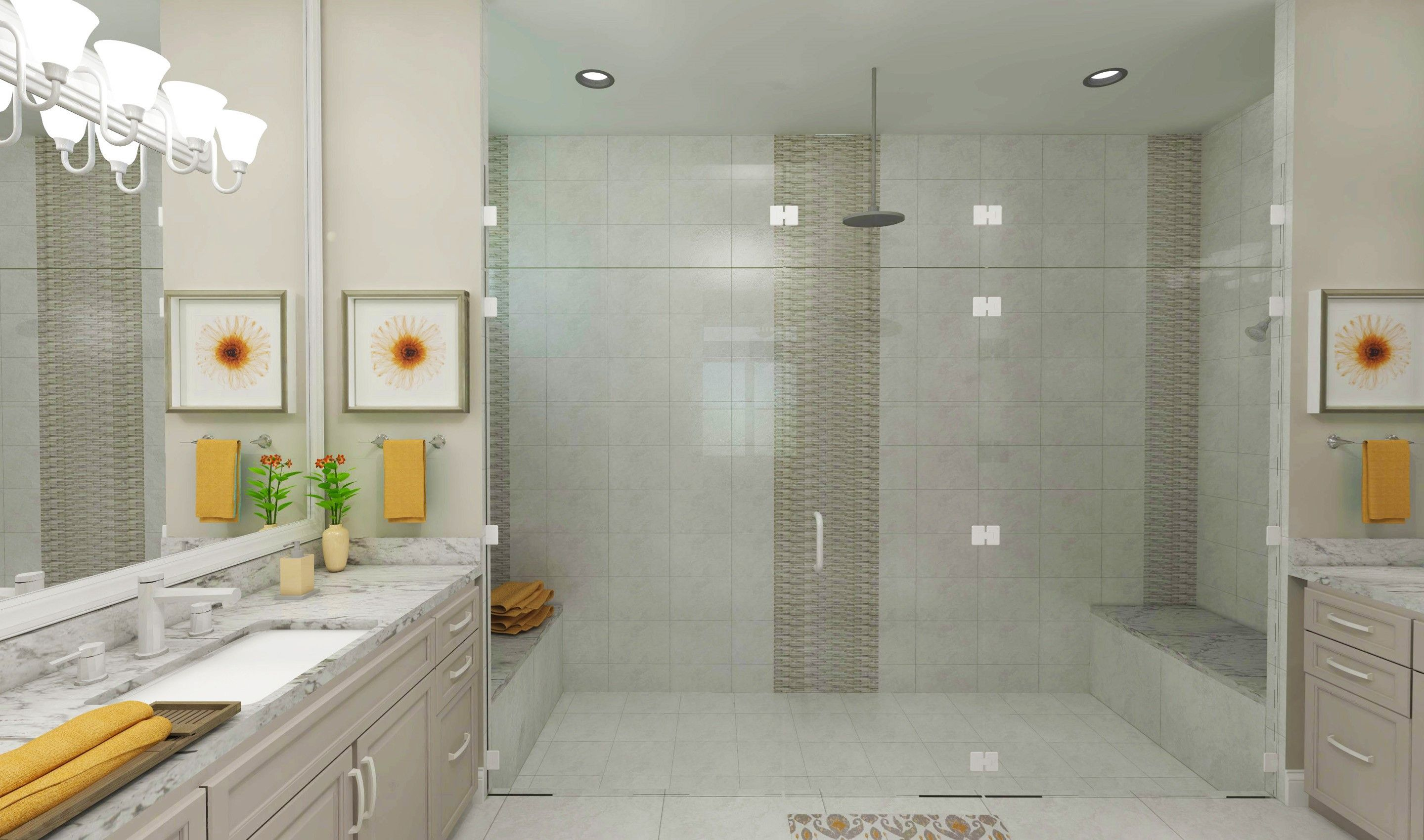 Bathroom featured in the Coral By K. Hovnanian's® Four Seasons in Broward County-Ft. Lauderdale, FL
