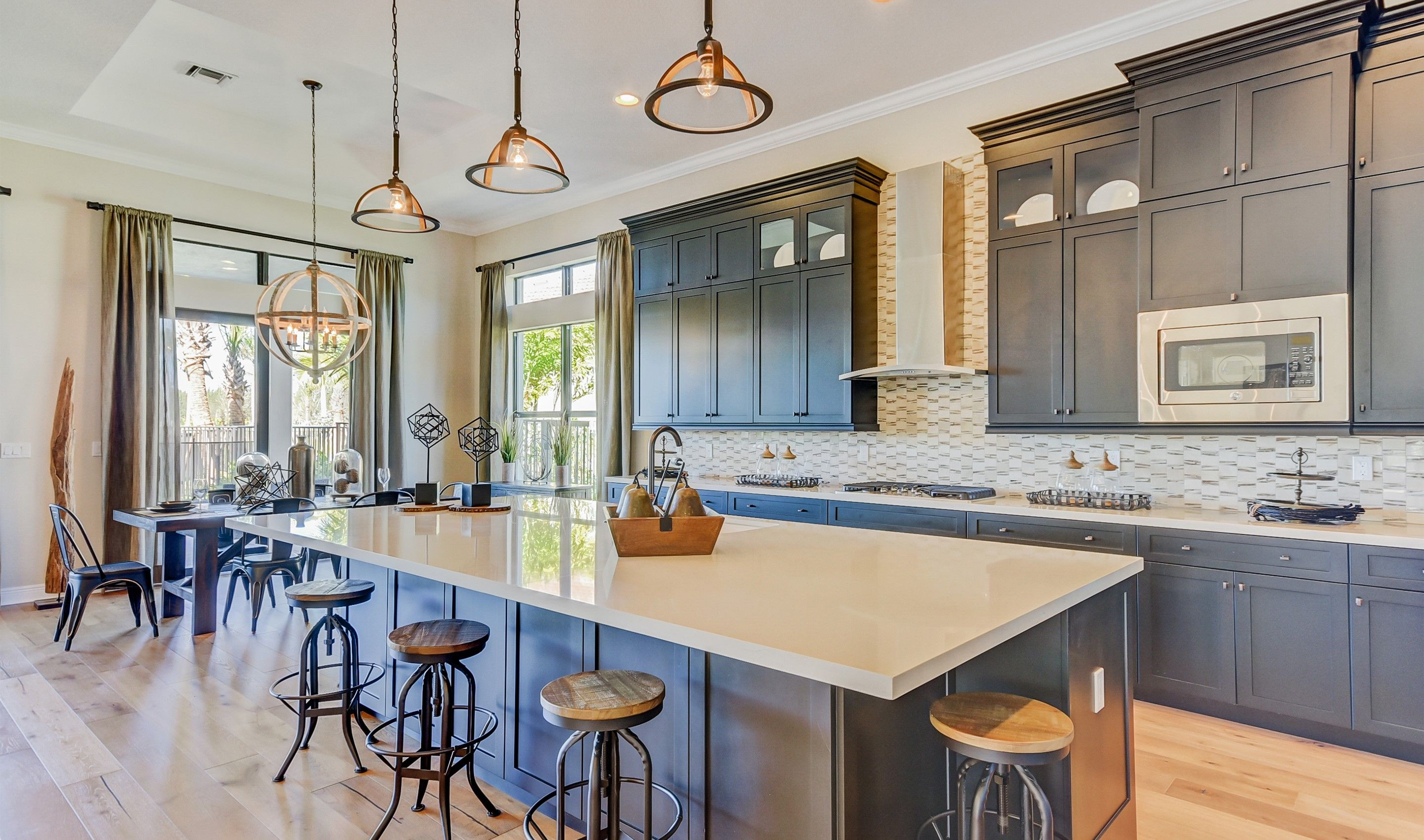 Kitchen-in-Soleil-at-K. Hovnanian's® Four Seasons at Parkland-in-Parkland