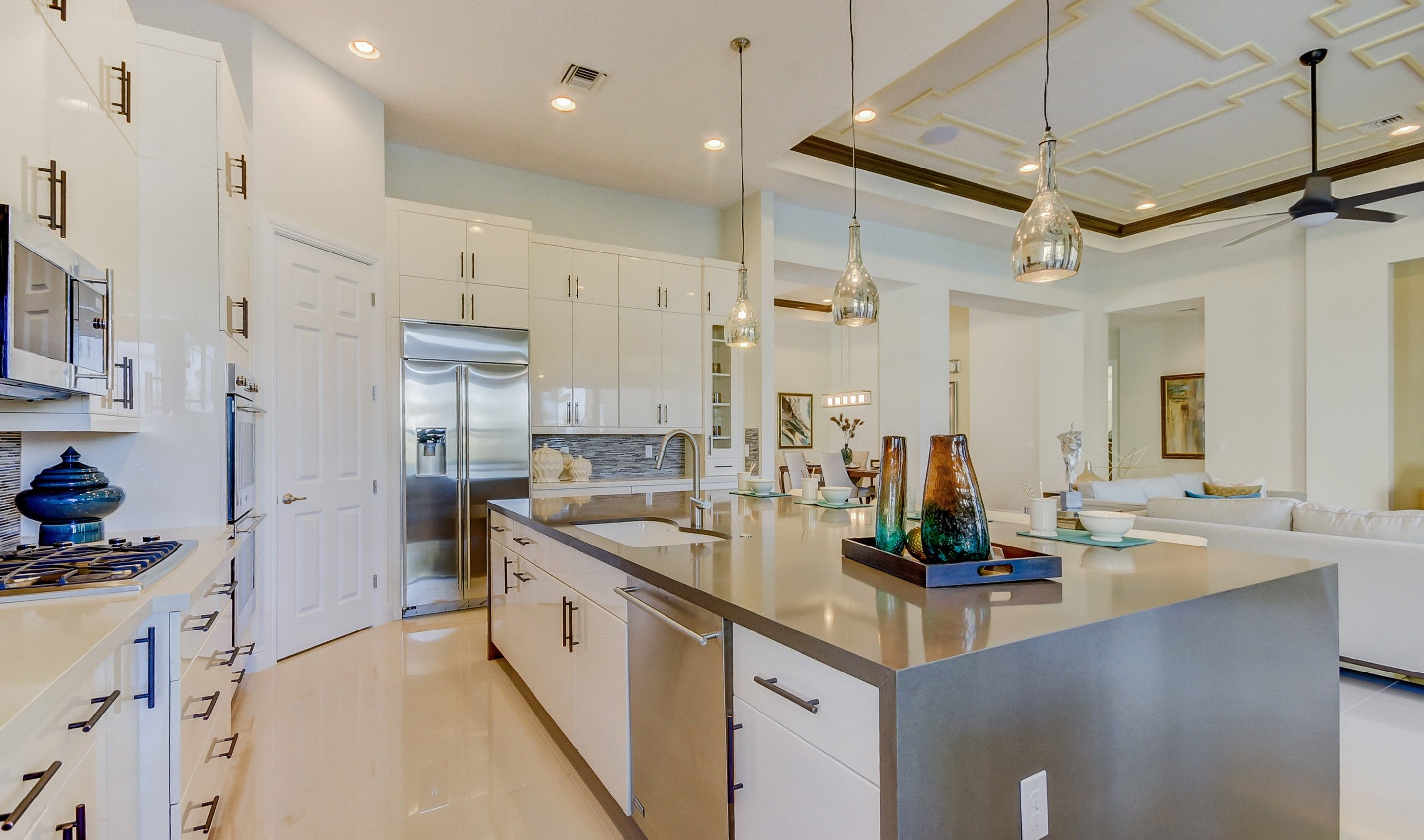 Kitchen featured in the Verna By K. Hovnanian's® Four Seasons in Broward County-Ft. Lauderdale, FL