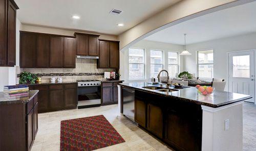 Kitchen-in-Sawyer II-at-Bonbrook Plantation - 60' Homesites-in-Rosenberg
