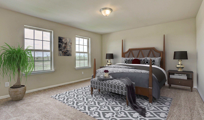 Bedroom-in-Bella II-at-Woodshore-in-Clute