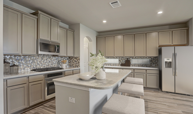 Kitchen-in-Bella II-at-Sunset Ridge-in-Humble