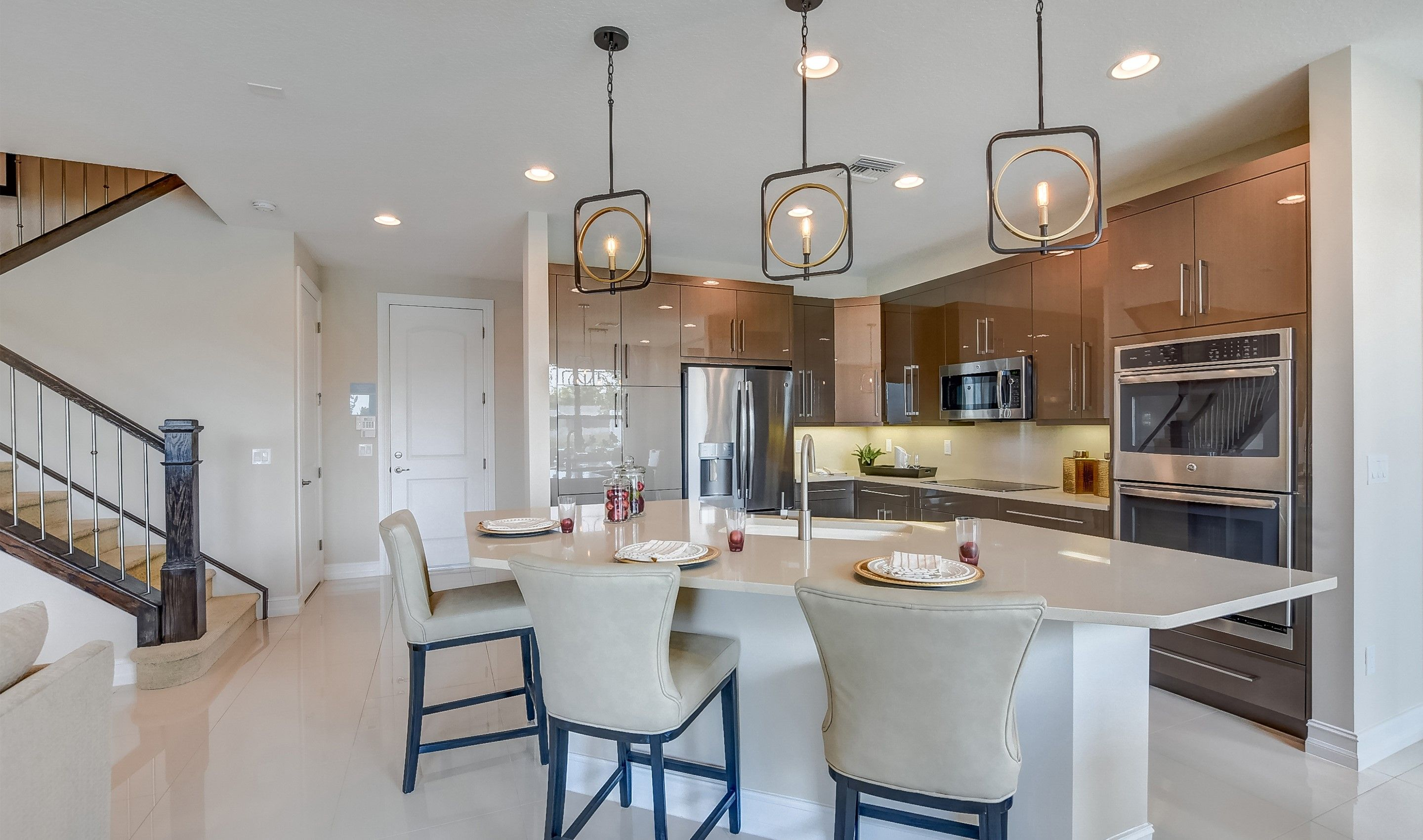 Kitchen featured in the Bonaire II By K. Hovnanian® Homes in Palm Beach County, FL