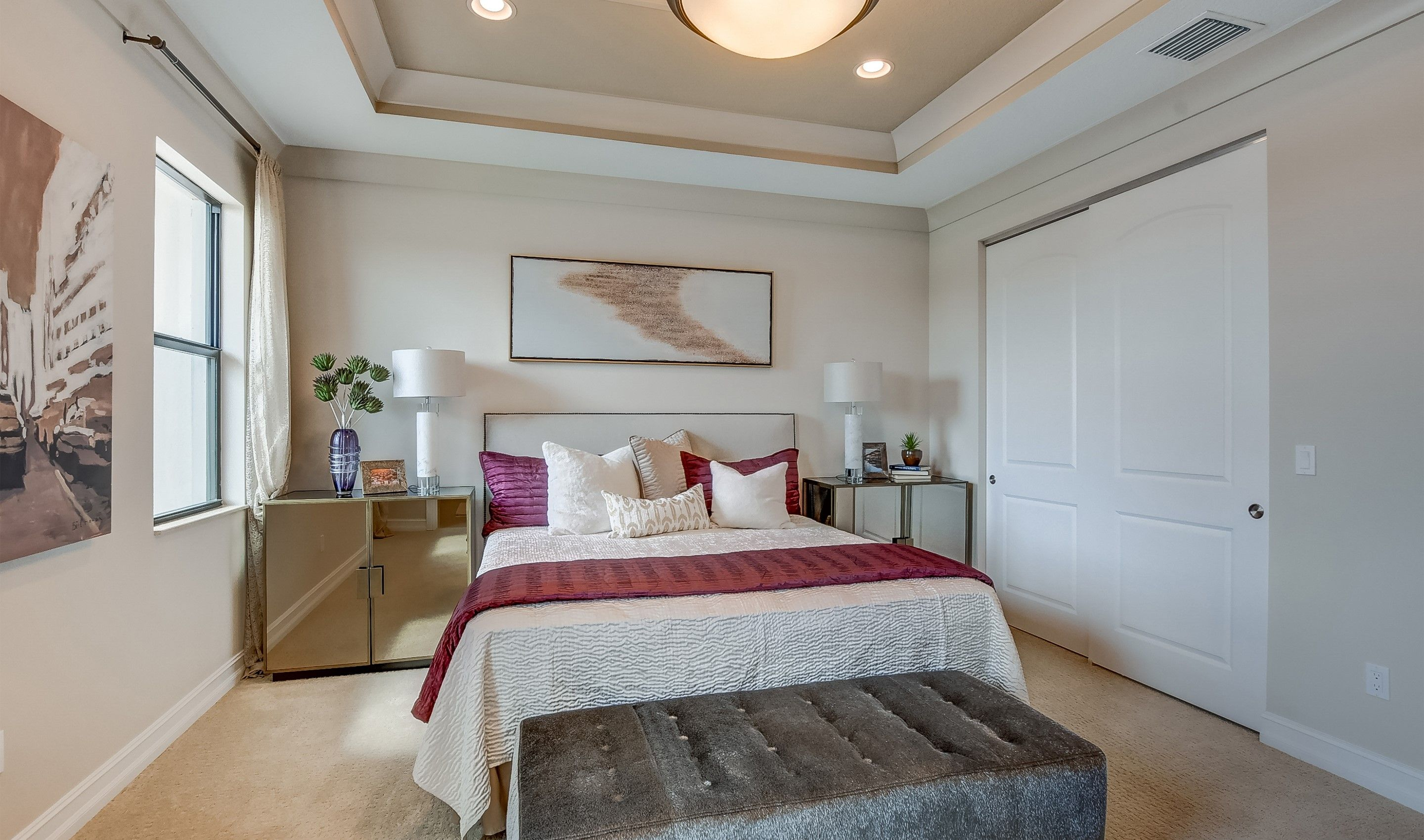 Bedroom featured in the Bonaire II By K. Hovnanian® Homes in Palm Beach County, FL